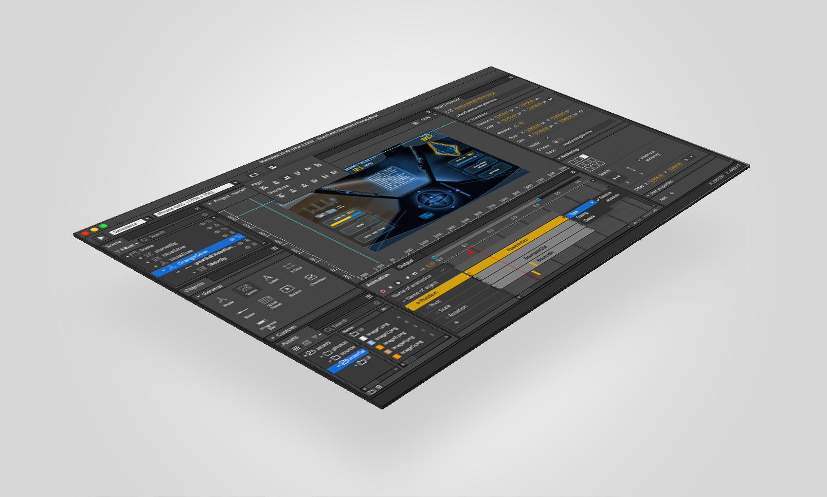 Marmalade 2D Kit Editor UI